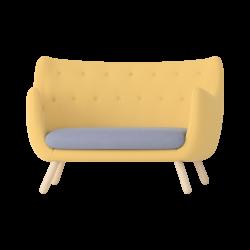 Yellow Modern Armchair