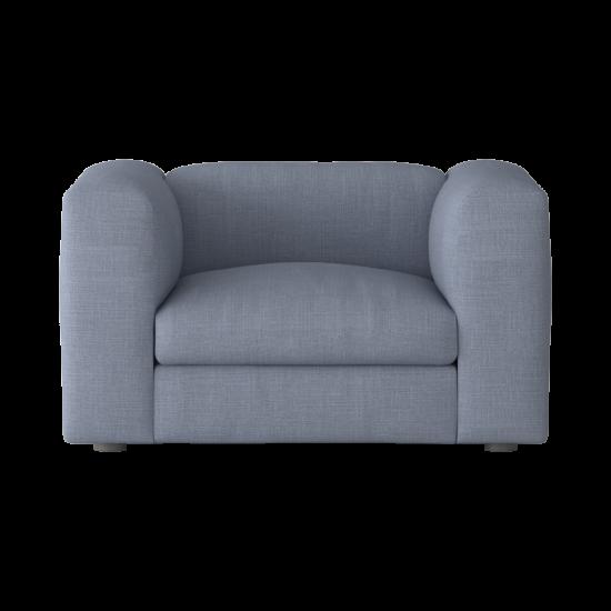 Gray Armchair