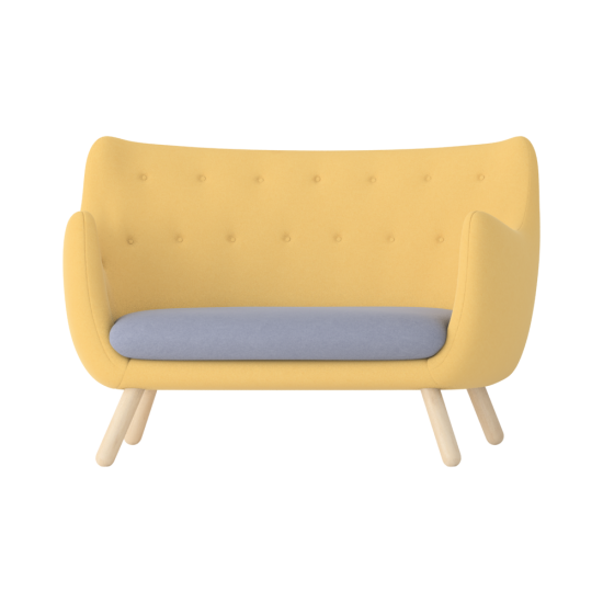 Yellow Modern Armchair